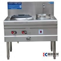 和泰中型低压单炒单温节能灶1000x850x800mm