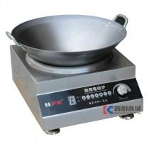沪南商用电磁炉台式凹面电磁炉220V/3.5KW