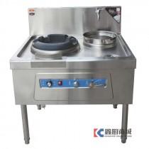 比特威单炒单温节能炒菜灶900x800x800mm