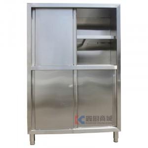 不锈钢食具保洁柜/移门碗柜1200x500x1800mm, 201/0.8mm